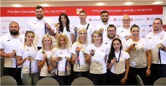 Польские легкоатлеты показали зубы