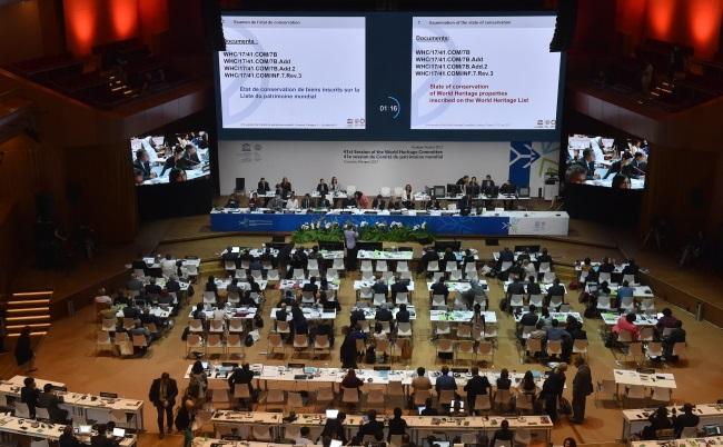 UNESCO Committee debate on the Białowieża forest. Photo: PAP/Jacek Bednarczyk