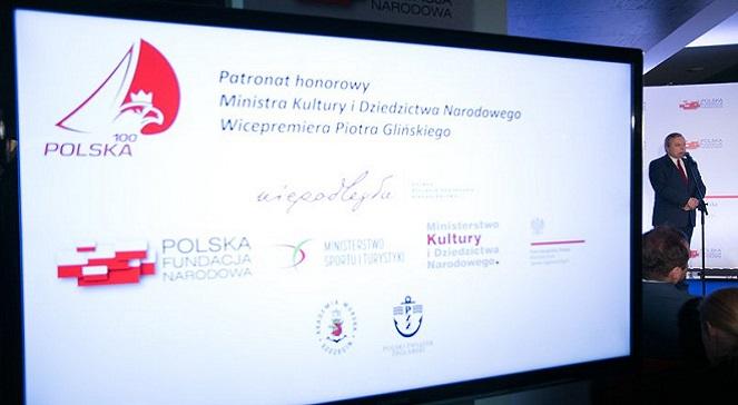 """Презентация программы """"Польша 100""""."""