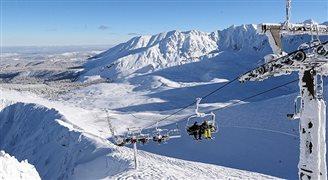 В зимней столице Польши разгар лыжного сезона