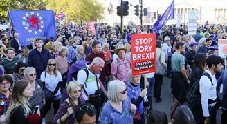 Wielki marsz antybrexitowy w Londynie