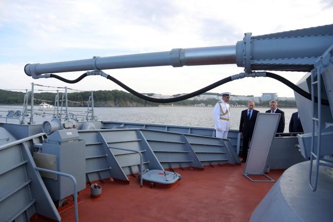 Владімір Путін у Владивостоці
