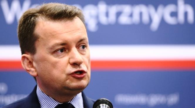 Innenminister Mariusz Błaszczak