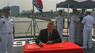 China navy ships to visit Poland
