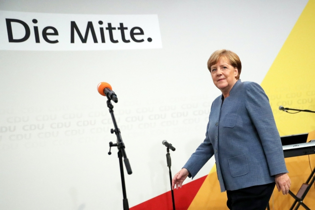 German Chancellor Angela Merkel. Photo: EPA/CARSTEN KOALL