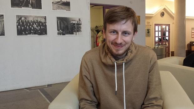 """Богдан Логвиненко, мандрівник, журналіст, автор книжки """"Перехожі"""""""