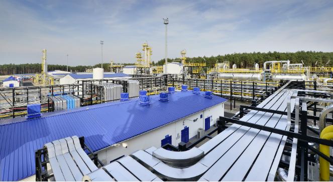 Należąca do PGNiG kopalnia ropy i gazu ziemnego Lubiatów - zdjęcie ilustracyjne