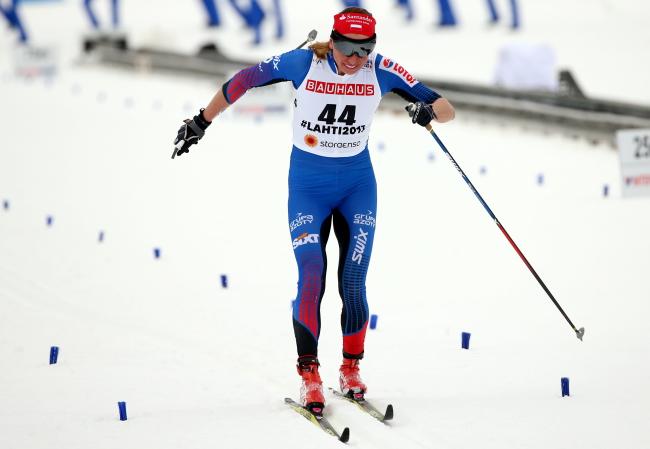 Justyna Kowalczyk. Photo: PAP/Grzegorz Momot.