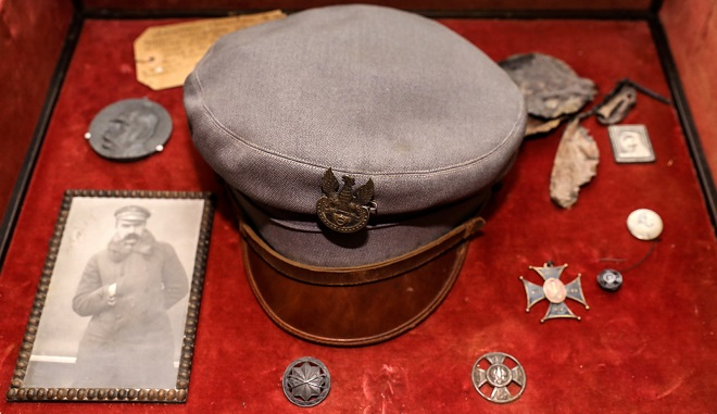 Czapka - maciejówka Marszałka Józefa Piłsudskiego
