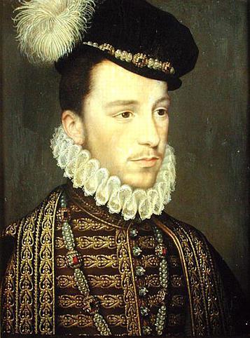 Генріх Валуа. Портрет Франсуа Клуе (1570), Лувр
