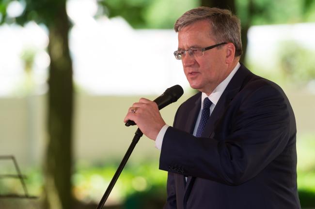 President Bronisław Komorowski. Photo: PAP/Jakub Kaczmarczyk