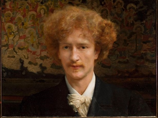 A portrait of Ignacy Jan Paderewski, by painter Lawrence Alma-Tadema, 1890. Photo: Wikimedia Commons