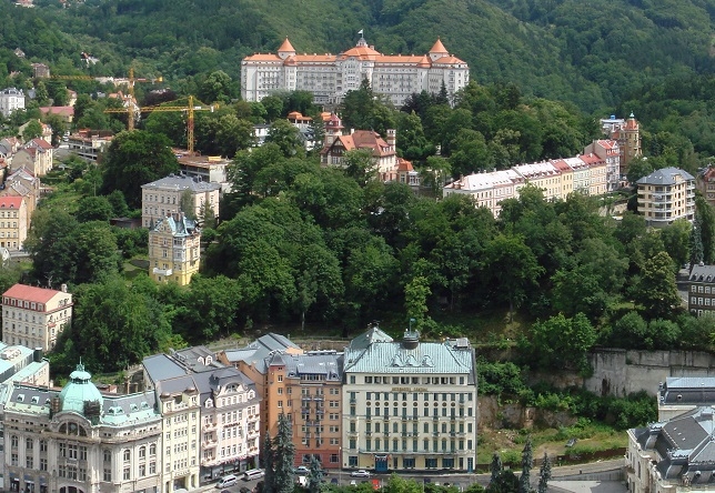 Karlovy Vary. Photo: Bobak Ha'Eri/Wikimedia Commons (CC BY 3.0)