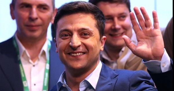 Избранный президент Украины Володимир Зеленский
