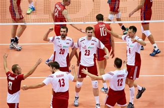 Poland defeats Russia in Volleyball World League opener