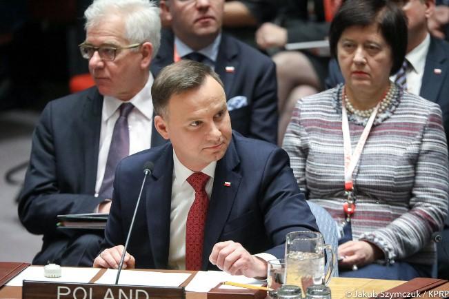 Prezydent RP Andrzej Duda w ONZ