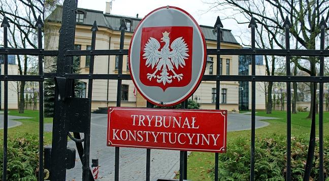 Sitz des Verfassungsgerichts in Warschau