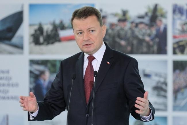 Poland's Defence Minister Mariusz Błaszczak. Photo: PAP/Paweł Supernak