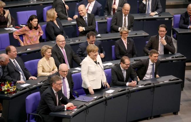 Анґела Меркель у Бундестазі