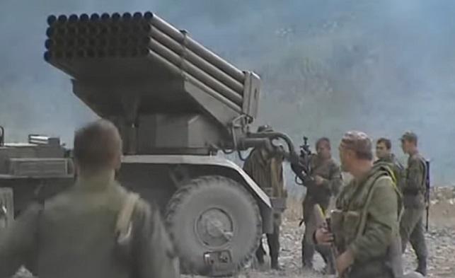 Российские военные во время российско-грузинской войны 2008 года