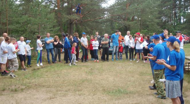 Białoruś: sportowy zlot Polaków nad Niemnem