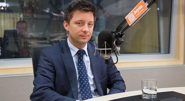 Michał Dworczyk, fot. W. Kusiński/Polskie Radio