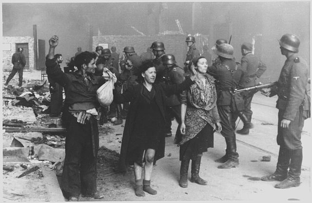 """Здымак са справаздачы камандзіра фашысцкіх сіл падчас паўстаньня Ю.Стропа, падпісаны """"Гэтыя бандыты аказвалі ўзброены супраціў"""""""