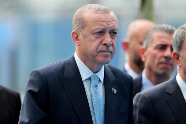 Прэзыдэнт Турцыі Рэджэп Таіп Эрдаган.