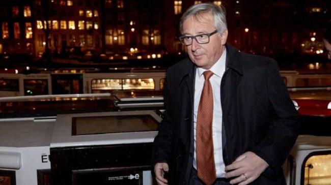 Президент Европейской комиссии Жан-Клод Юнкер.