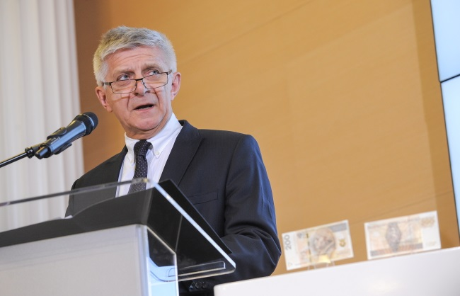 Central bank president, Marek Belka. Photo: PAP