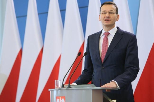 Mateusz Morawiecki. Photo: PAP/Leszek Szymański