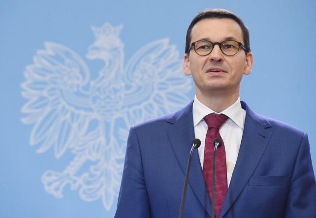 Polish PM Mateusz Morawiecki. Photo: PAP/Radek Pietruszka