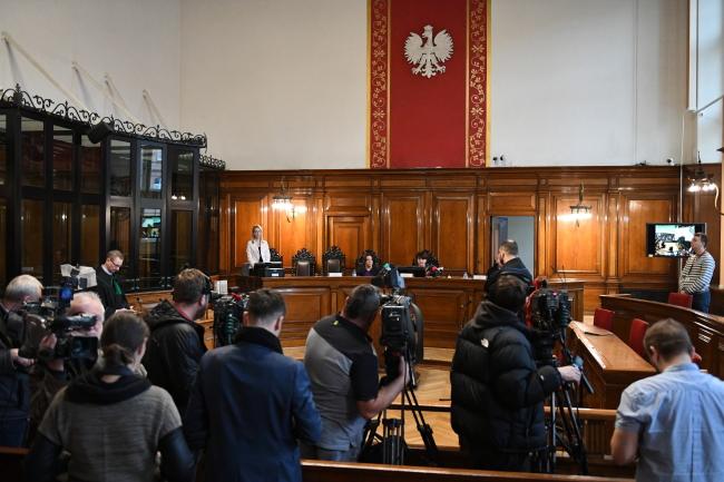 Заседание суда в Гданьске по иску Я. Качиньского