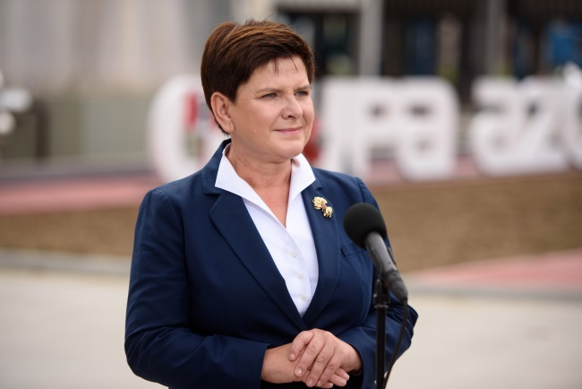 PM Beata Szydło. Photo: PAP/Paweł Topolski