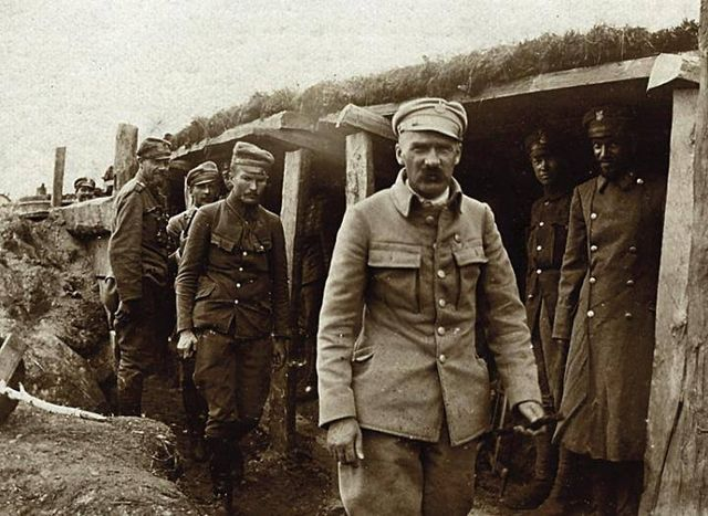 Пілсудський на Волині, 1916 р.