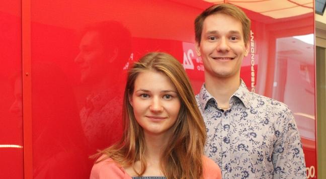 Katsiaryna Drozhzma i Marek Dubinin/fot.PR24