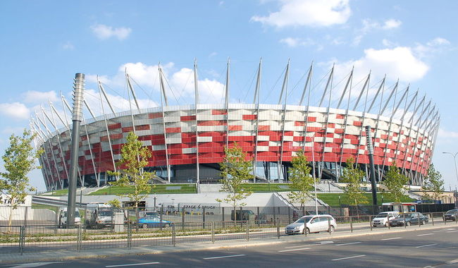 Warsaw's National Stadium will be the key venue for the two-day NATO summit held in the Polish capital on 8,9 July. Photo: wikicommons/Wistula