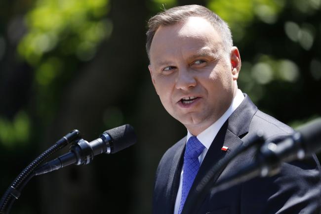 Президент Польщі Анджей Дуда у Вашингтоні, 12 червня 2019 року