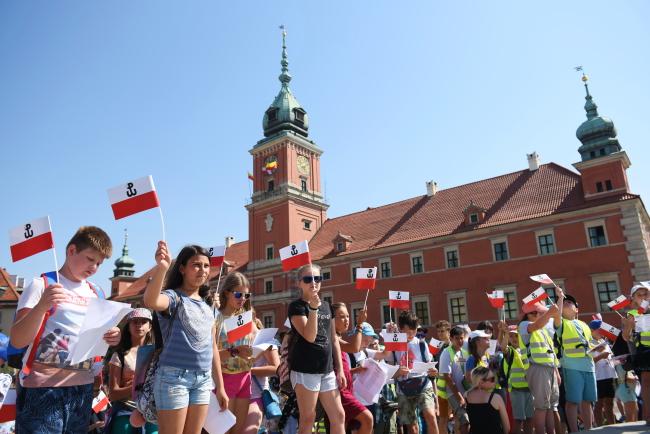 Варшава у 73 роковини Варшавського повстання