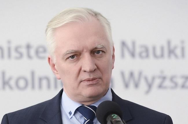 Jarosław Gowin. Photo: PAP/Jakub Kamiński