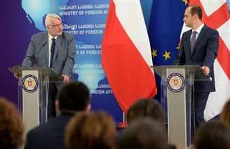 Poland supports Georgia's EU bid: FM