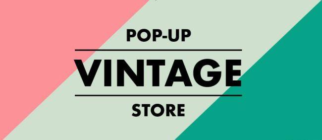 Логотип магазина Pоp Up Vintage Store.