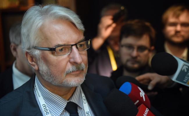 Witold Waszczykowski. Photo: PAP/Radek Pietruszka