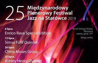 В Варшаве стартует 25-й юбилейный фестиваль «Джаз на Старувке 2019»