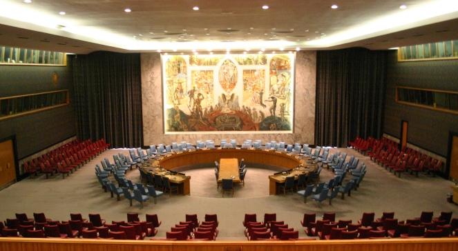 Зала засідань Ради Безпеки ООН у Нью-Йорку