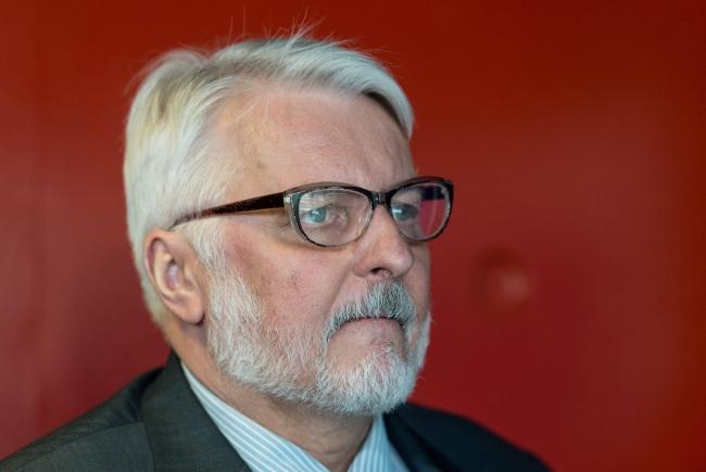 Polish Foreign Minister Witold Waszczykowski. Photo: EPA/Patrick Seeger.