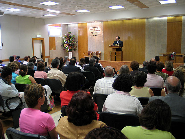 Богослужение в Зале царства