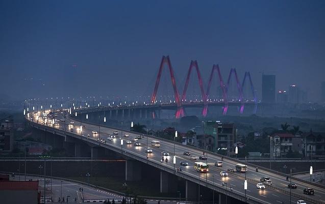 Мост через Красную реку в Ханое