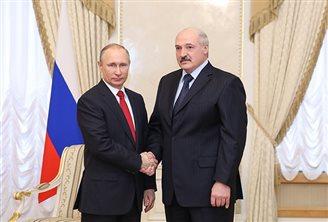 Пуцін едзе да Лукашэнкі