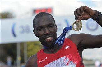 Kenyan runner wins Warsaw Marathon